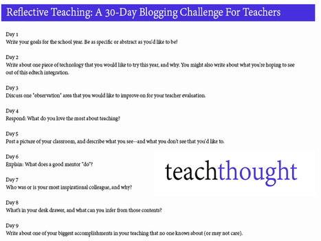 Reflective Teaching Questions: A Challenge For Teachers | Teaching and Learning with Teachers | Scoop.it