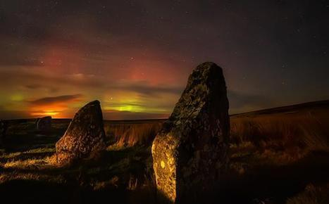 Spectacular Image of Aurora Illuminating Ancient Megaliths | TDG ... | Ancient Origins of Science | Scoop.it