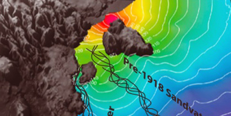 Science Graphic of the Week: When a Volcano Erupts Under a Glacier You Get a Jökulhlaup | Geology | Scoop.it