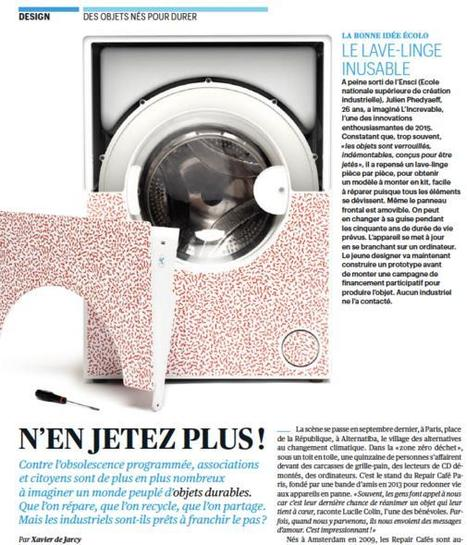 The Flat Pack Washing Machine The French Designer Claims Will Last a Lifetime | FrenchNewsOnline | French News Headlines | Scoop.it