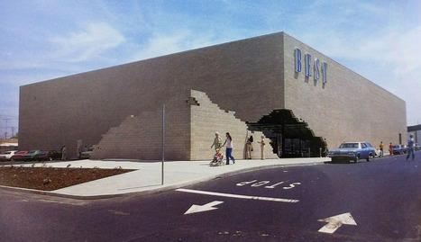 James Wines s'est amusé avec l'architecture des supermarchés .../..pour BEST Products -La boite verte | Zap...d'arts! | Scoop.it
