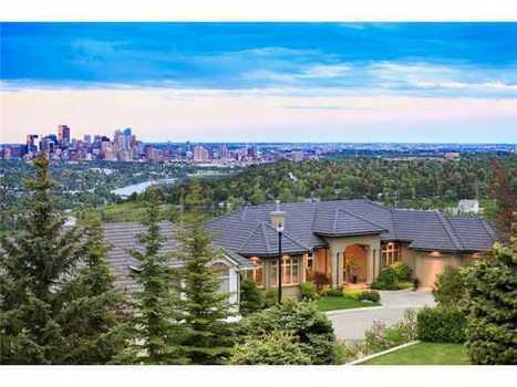 New | Overlooking The Entire City | 42 PATINA LN SW, Calgary, AB | Luxury Real Estate Canada | Scoop.it