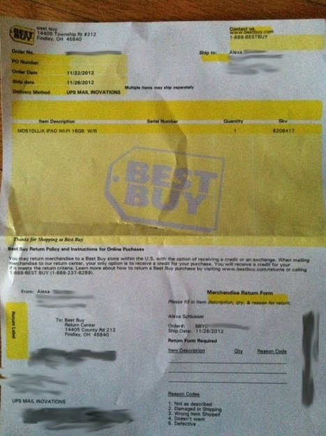 My Mom Ordered One iPad And Best Buy Sent Five – The Consumerist | Tech News watch | Scoop.it