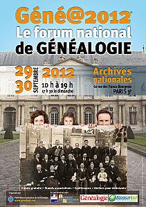 Un week-end de généalogie à Paris : géné@2012 | Passé Simple | Scoop.it
