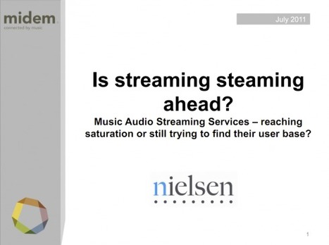 Is streaming steaming ahead? – Exclusive Nielsen white paper | music innovation | Scoop.it