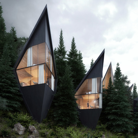 Peter Pichler Designs Tree House Hotel Rooms Fo