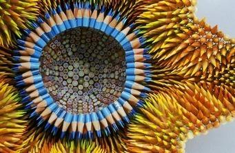 Colored Pencil Sculptures by Jennifer Maestre   James Shearer - Google+   stationery   Scoop.it