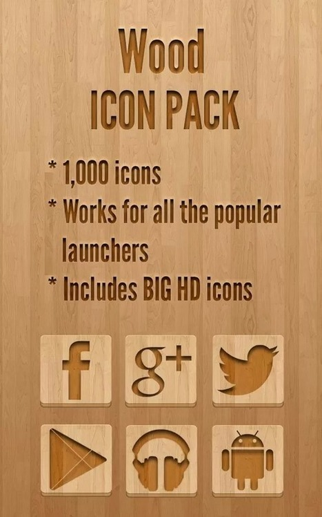 Icon Pack - Wood v2.0.7 | ApkLife-Android Apps Games Themes | Android Applications And Games | Scoop.it