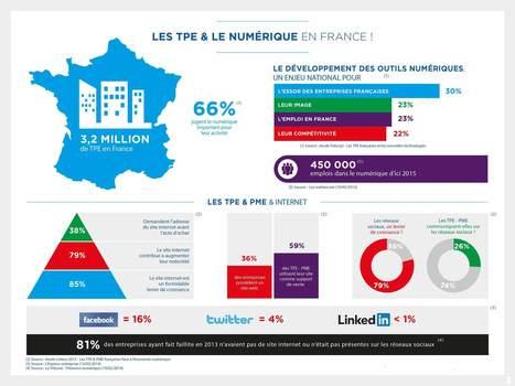 Les TPE & le numérique en France | Veille et e-réputation | Scoop.it