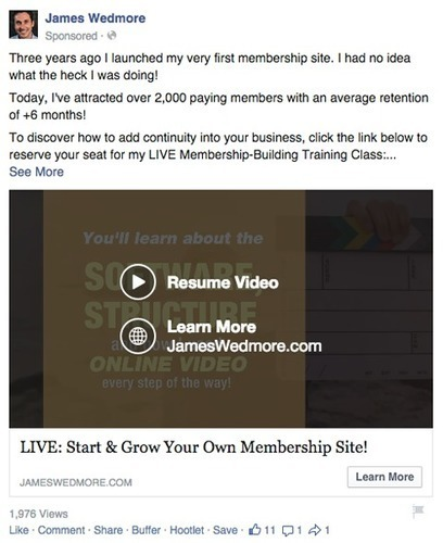7 Ways to Use Facebook Native Video to Better Connect With Your Fans   Marketing & Webmarketing   Scoop.it