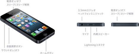 アップル - iPhone 5 - 詳しい技術仕様 | smartphone_jp | Scoop.it