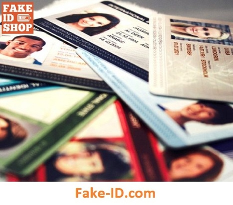 Buy Fake ID, Photo ID Online at Best Price with Holograms ID | Online Shop for Fake ID Cards | Scoop.it