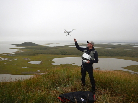 NunatsiaqOnline 2017-01-04: NEWS: Drones changing how scientists monitor Arctic climate change | qrcodes et R.A. | Scoop.it