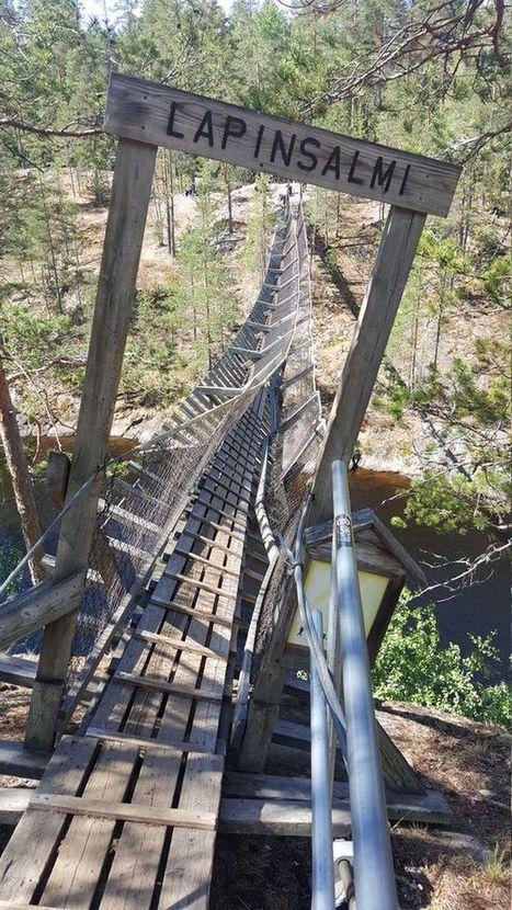 Repovedelle saatetaan rakentaa kokonaan uusi silta - retkeilijöiden  piittaamattomuus ei ollutkaan syynä romahtamiseen 70c2684c89