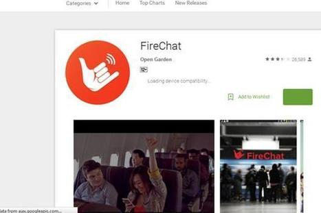 FireChat now allows users to send messages without a data connection | Open Garden Press Coverage | Scoop.it