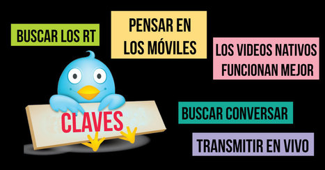 5 razones de #Twitter para usar video @cdperiodismo@NataliaFdezLara | #socialmedia #rrss | Scoop.it