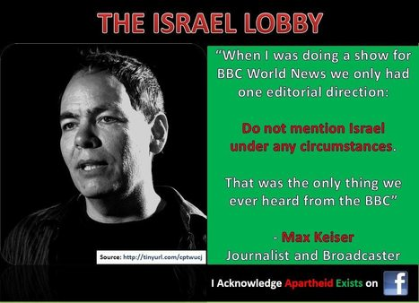 My name is Max Keiser and I acknowledge #Apartheid exists in #Israël | News in english | Scoop.it