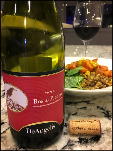 International Review of a Le Marche Wine: Tenuta De Angelis Rosso Piceno DOC 2015 | Wines and People | Scoop.it