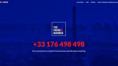 Tourisme : The French Number, un numéro qui connecte Français et touristes pour promouvoir le pays | Objets connectés, Tag2D & Tourisme | Scoop.it