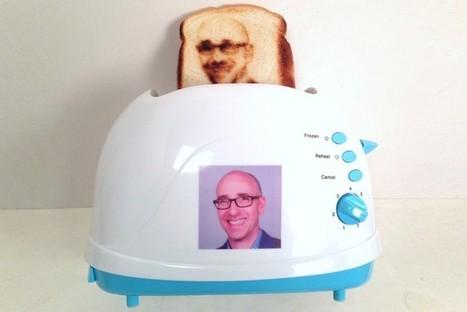 Selfie Toaster: il piacere di poter mangiare la tua faccia sul toast ogni mattina! | Giusy Barbato | Food & Beverage, Restaurant, News & Trends | Scoop.it