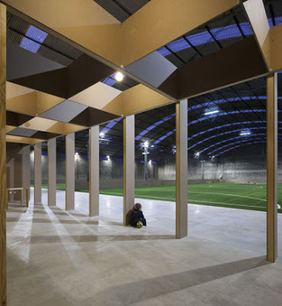 VHYB LA VILLE HYBRIDE©: Une usine reconvertie en stade de foot indoor à Coimbra | Ville numérique - Mobilités | Scoop.it