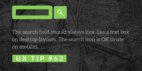 Top 100 UX Design Tips from a User Experience Master   Usability and User Experience   Scoop.it