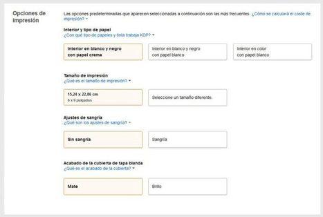 Cómo publicar un libro de tapa blanda en KDP de Amazon | Libro electrónico y edición digital | Scoop.it