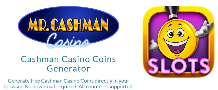 Cashman Casino Free Coins Unlimited Promo C
