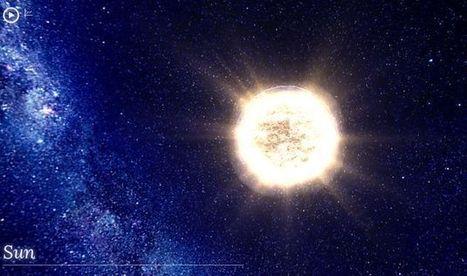100000 Stars, representación interactiva con la ubicación de más de 100000 estrellas | Aprendiendo a Distancia | Scoop.it