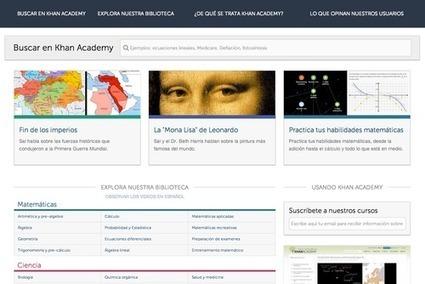 Khan Academy en Español | Geografía e Historia | Scoop.it