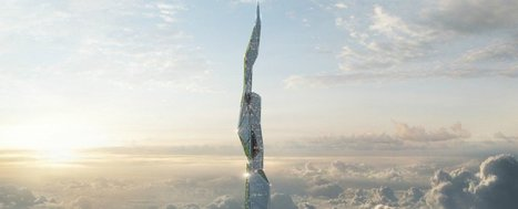 Engineers Have Released Plans for a 5-Km-High Skyscraper That Eats Smog | Digital Culture | Scoop.it