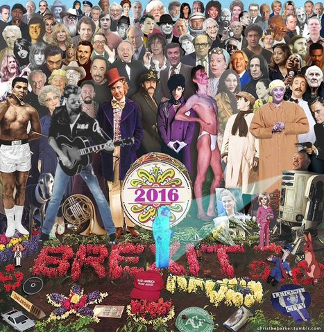 LOOK: A Poignant 'Sgt. Pepper'-Style Tribute To The Stars We've Lost in 2016 | 16s3d: Bestioles, opinions & pétitions | Scoop.it