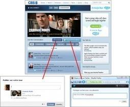 Quand les fictions TV se mettent au 2.0 : la social TV (2/4) | Chasseuse de tendances | Nouvelles écritures et transmedia | Scoop.it
