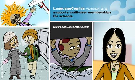 Apprendre français et espagnol avec LanguageCom...   les sites du FLE   Scoop.it