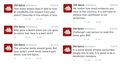 Old Spice's Twitter voice is weirdly funny and weirdly consistent   Compelling Selling   Scoop.it