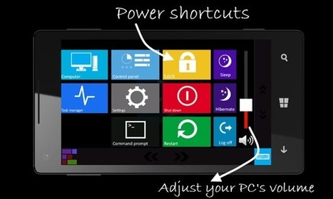 Control your Windows 8 PC from Android and Windows Phone 8 | mlearn | Scoop.it