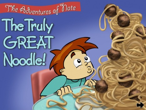 iPhone/iPad Book App Review The Truly Great Noodle | Publishing Digital Book Apps for Kids | Scoop.it