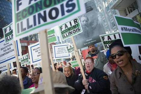 Illinois Budget Stalemate Persists - Wall Street Journal | Illinois Legislative Affairs | Scoop.it