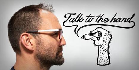Blog: Talk to the hand - RSA | Engage Your Audience | Scoop.it