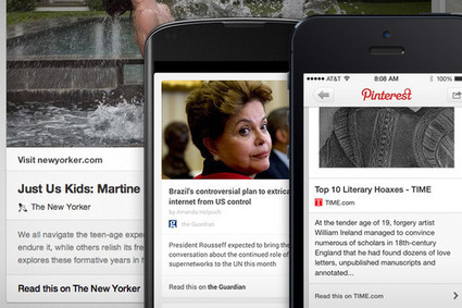 A new way for pinners to discover your articles | Pinterest | Scoop.it