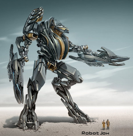 Mech Mecha Giant Robot Concept Art Design Gunda