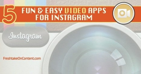 5 Apps That Make Creating & Sharing Instagram Videos Fun & Easy! | Daring Apps, QR Codes, Gadgets, Tools, & Displays | Scoop.it