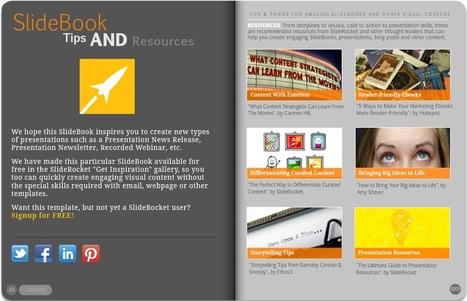 Create Professional-Looking Multimedia Flipbooks Easily with the SlideBook Theme in SlideRocket | Digital Literacy - tips & tricks | Scoop.it