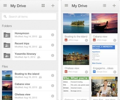 Google updates Drive for iOS with new card UI, easier way to browse files | Using Google Drive in the classroom | Scoop.it