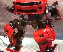 Takara Tomy Transforming Robot Car Prototype : Brave Robotics in Disguise - Technabob (blog) | robotics | Scoop.it