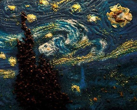 Salt of the Earth: Kelly McCollam's Paintings with Spices | Visual*~*Revolution | Scoop.it
