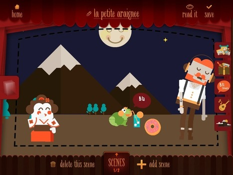 My Epic Stories: L'app qui transforme vos histoires en théâtre de marionnettes virtuel | TICE et Web 2.0 | Scoop.it