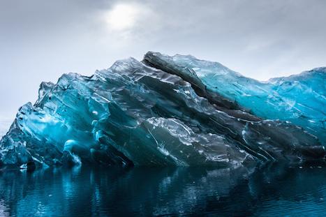 Vivid Photos of a Rare Flipped Iceberg in Antarctica | Antarctica | Scoop.it