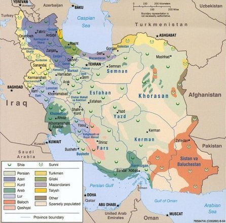 Persian or Iranian?  Is there a Difference? | Human Geography CP | Scoop.it
