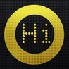 LEDhit, banner app with language translation.